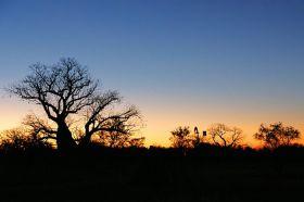 Sonnenuntergang am Westrand der Kimberleys